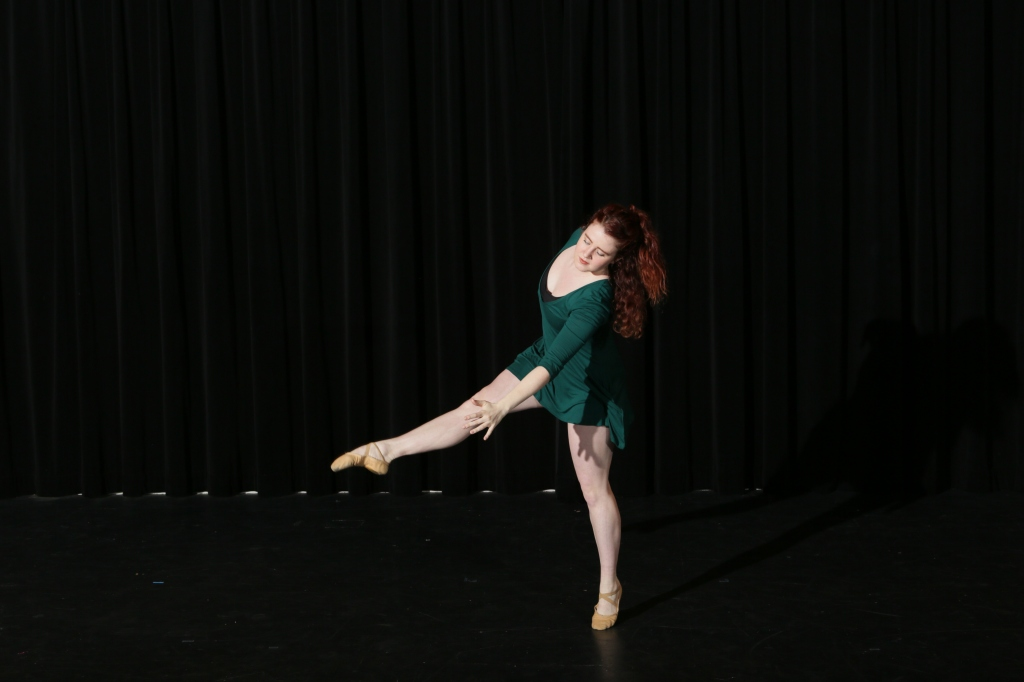 "Mollie Sharples in ""Granite"" (photo by Peter Yesley)"